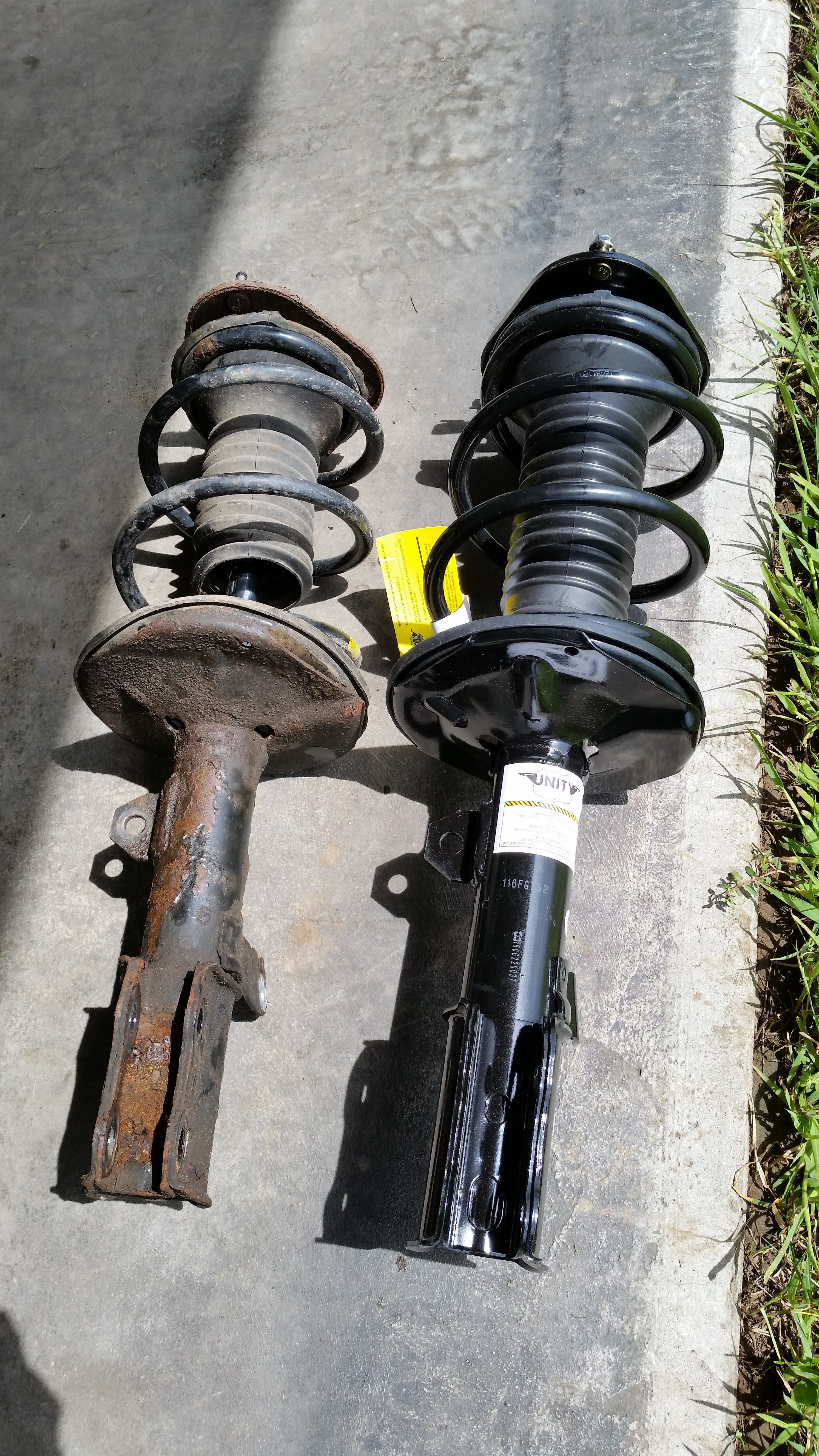 Replacing stabilizer struts: how to do the work yourself 12