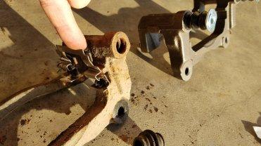 Vibration when Applying Brakes -Toyota Corolla – Stuck
