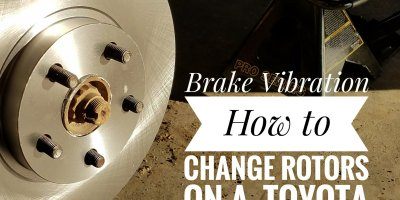 how to change brake rotors on a toyota corolla