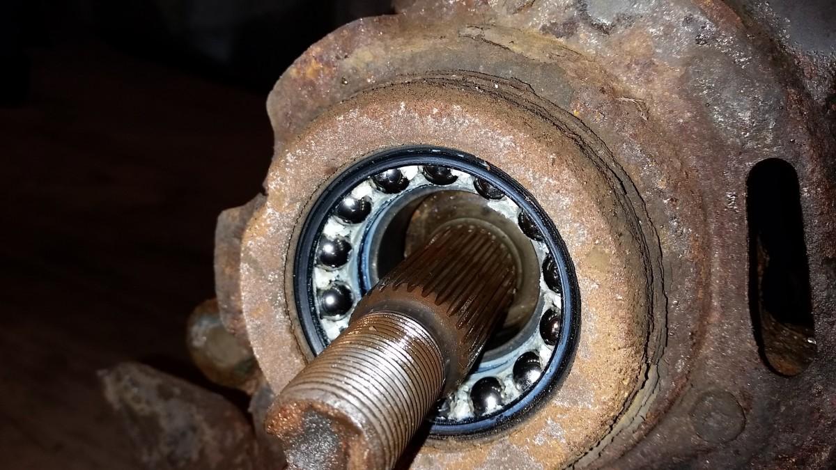 How Much To Replace Wheel Bearing >> Wheel Roar – How to Replace the Front Wheel Bearing on a Toyota Corolla – Practical Mechanic