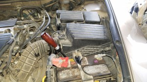 air filter housing removal
