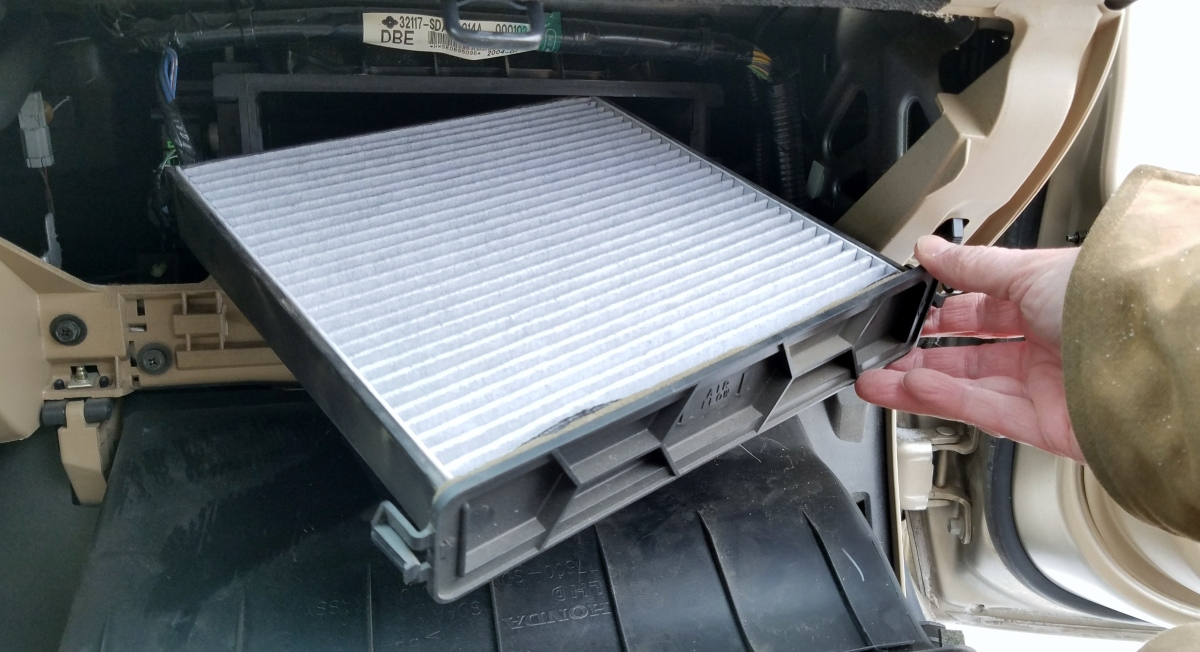change  cabin air filter     honda accord practical mechanic