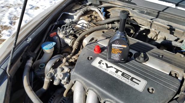 Accord-Engine-with-Power-Steering-Fluid