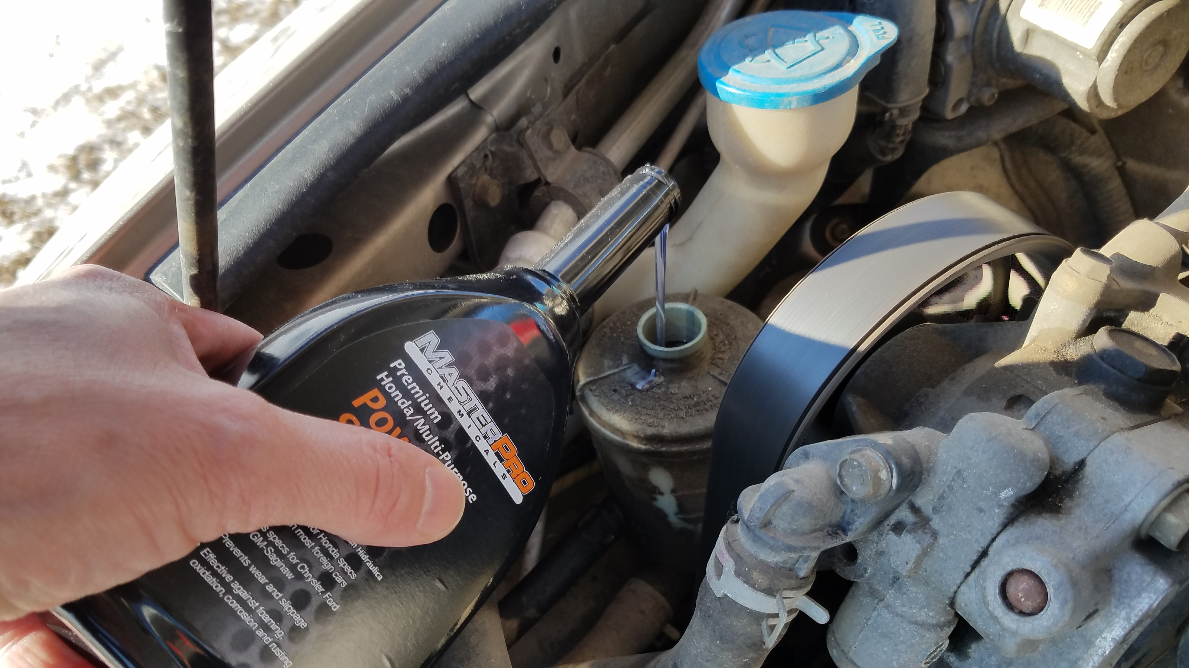 How To Check And Add Power Steering Fluid In A Honda Accord Rhpracticalmechanic: 2004 Mazda Rx 8 Power Steering Fluid Location At Gmaili.net
