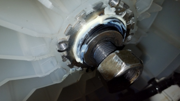 How To Replace The Bearings Very Noisy Washing Machine