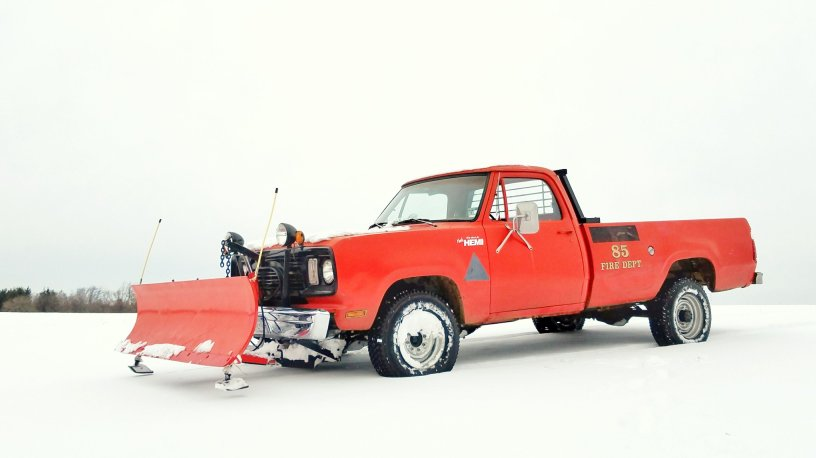 Dodge w200 sno commander