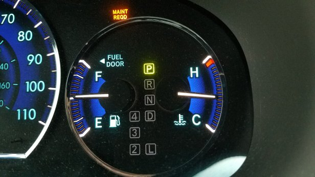 How to Reset the Maintenance Required Light – Toyota Sienna