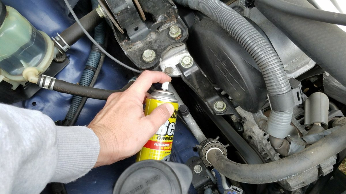 How To Stop A Squeaky Squealing Belt Practical Mechanic