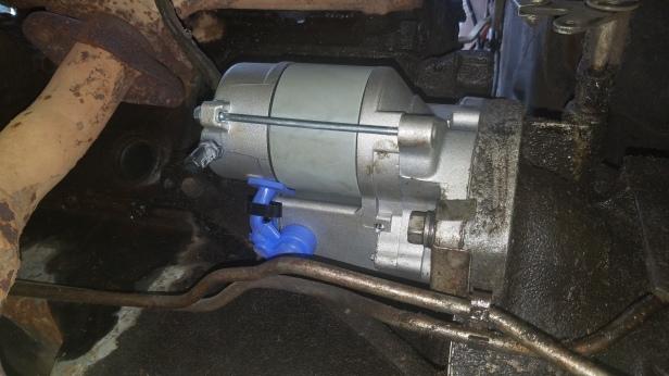 033-new-starter-installed
