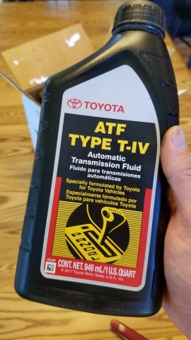 How to Change Transmission Fluid – Toyota Sienna – Practical