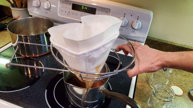 Synthetic-Orlon-Maple-Syrup-Final-Filtering-PracticalMechanic