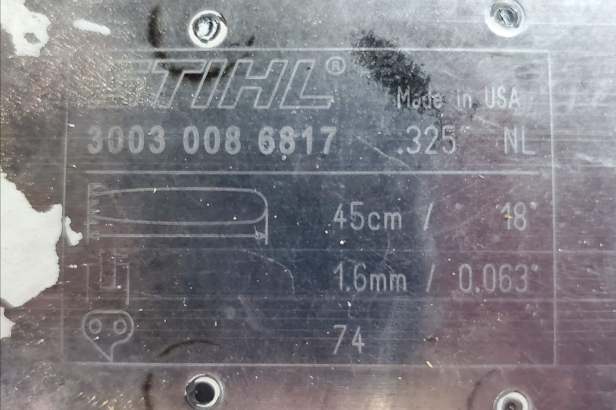 stihl-chainsaw-18inch-bar-chain-specs