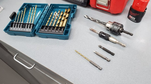 Quarter-inch-shaft-drill-bits
