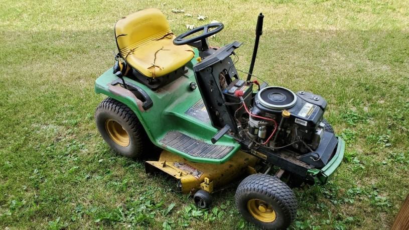 Starter Replacement Guide John Deere Lawn Tractor Practical Mechanic