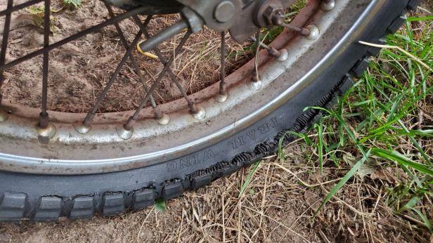 01-Honda-Motorcycle-Flat-Tire