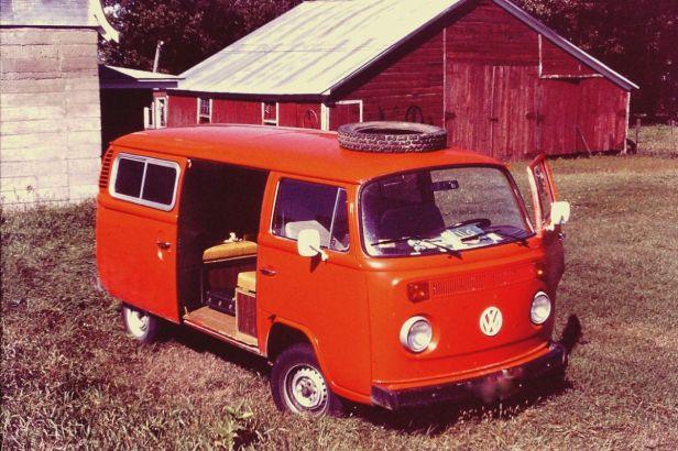 Volkswagon-Bus-Red-Vintage-Vanlife-Practical-Mechanic-Van-Life-RV