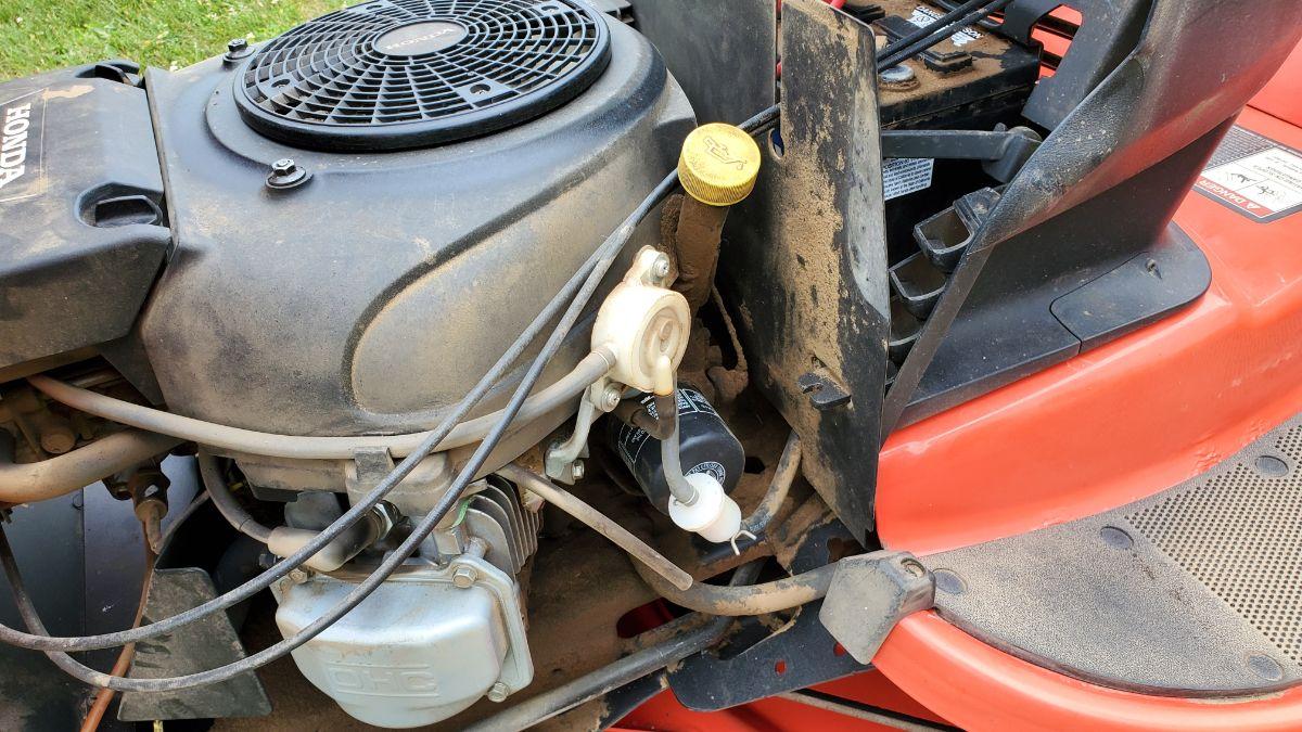 Simplicity Lawn Mower Broadmoor Oil Filter Location