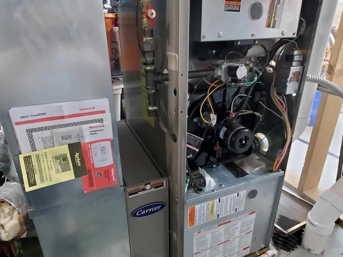 Carrier Furnace and AC system blower motor replacement guide