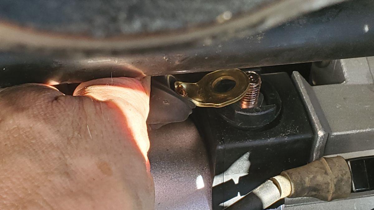 Main Power connector starter Honda Accord