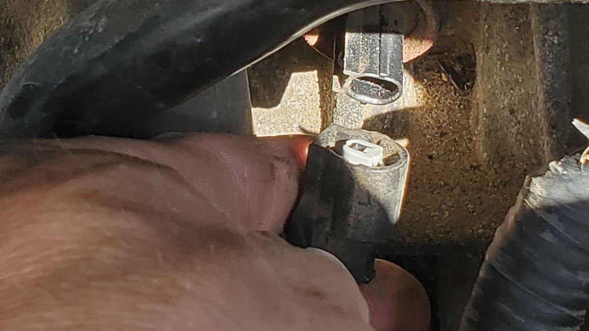 Reinstall knock sensor