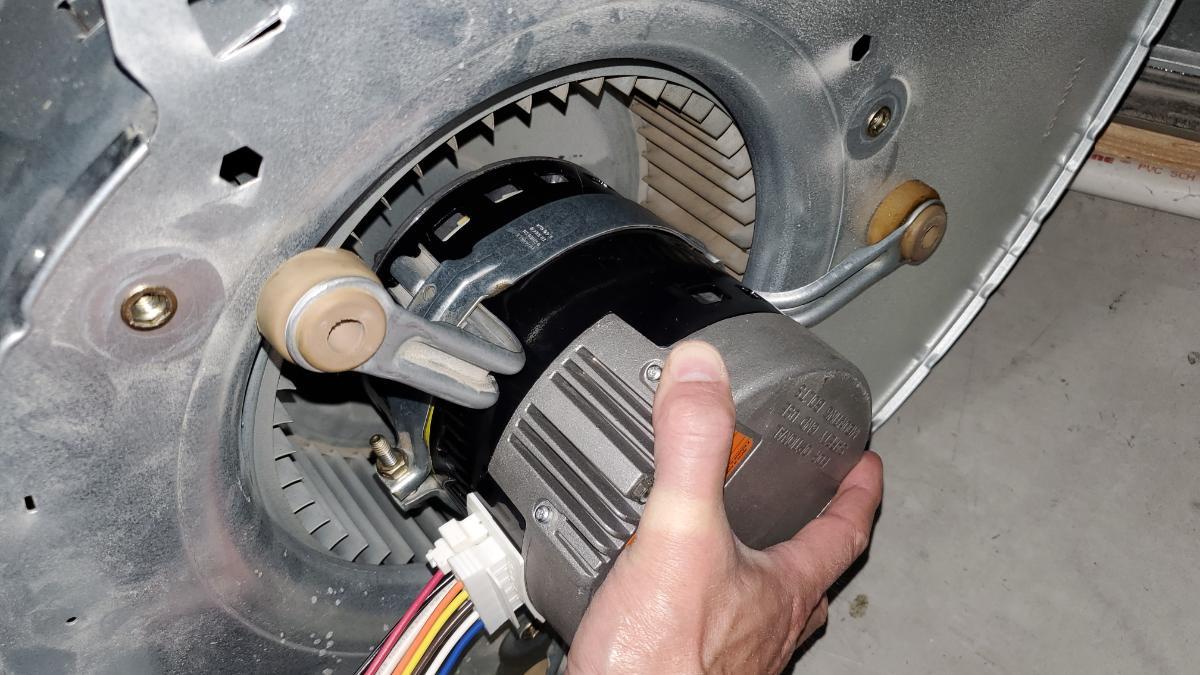 Installing a Packard EC Max Blower Motor