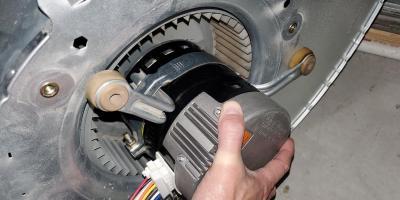 Packard EC Max Motor in a Furnace Blower