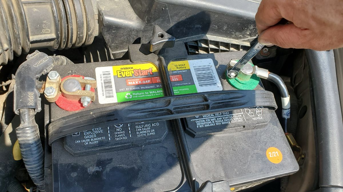 Honda Accord battery