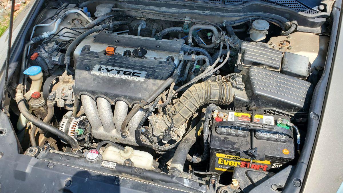 Honda Accord engine bay 2004