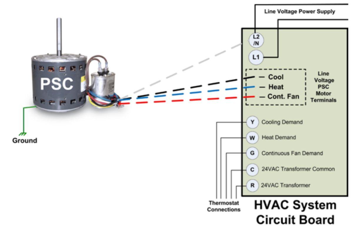 Packard PSC Wiring Diagram