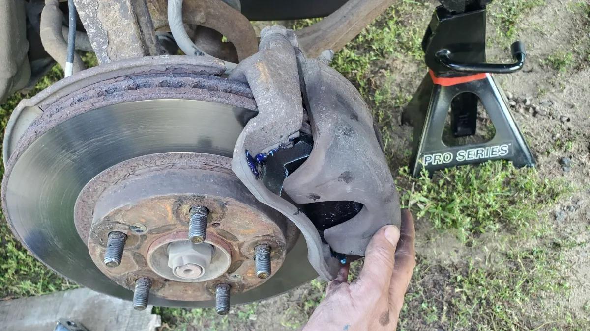 Brake Caliper install Honda Accord