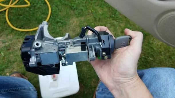 Honda ignition assembly.